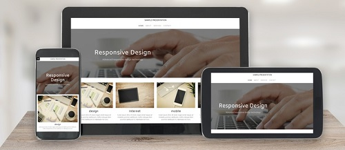 Modern Responsive Design Website